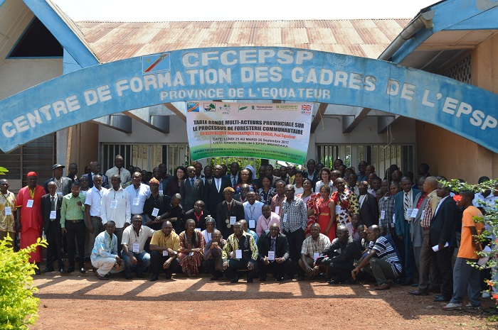 First provincial Roundtable on community forestry takes place in DRC