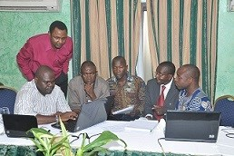 Delegates trained on mapping methodologies and GIS tools at Cameroon Conference