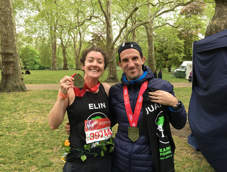 Well done to our 2019 London Marathon runners!