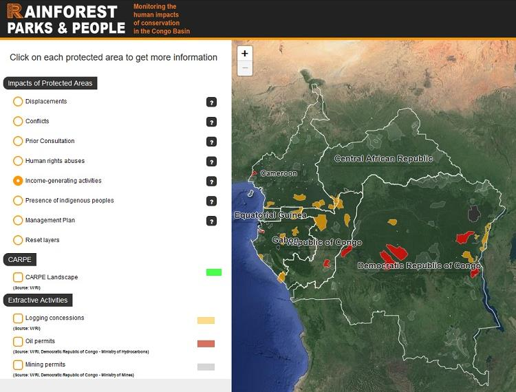 RFUK launches new interactive website on the human impacts of protected areas