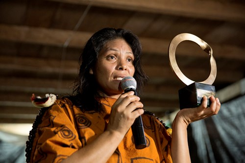 Press Release - Indigenous partner of RFUK in the Peruvian Amazon awarded prestigious international environmental prize