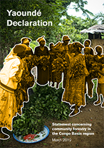 Yaoundé Declaration Declaration: Statement concerning community forestry in the Congo Basin region