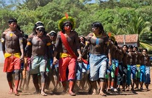 Press Release - England Challenged to Game by Brazilian Rainforest Tribe