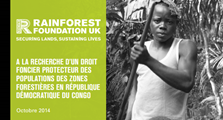 "DRC forest communties are ""Squatters on their own lands"" - RFUK report finds"