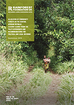 ALLOCATION OF COMMUNITY FORESTS IN THE CENTRAL AFRICAN REPUBLIC