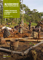 WOMEN'S PARTICIPATION IN COMMUNITY FORESTRY IN THE DRC