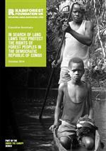 In search of land laws that protect the rights of forest peoples in the Democratic Republic of Congo