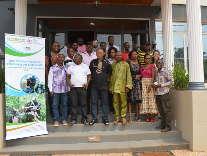 International workshop on community-based real-time forest monitoring takes place in Cameroon